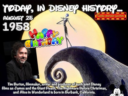 Today In Disney History ~ August 25th 10