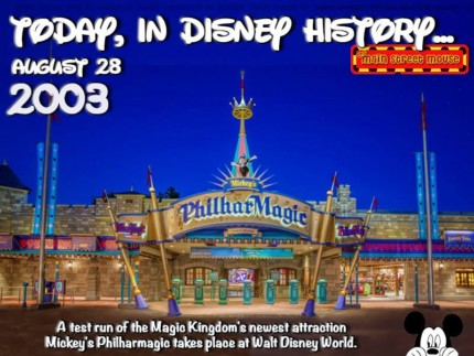 Today In Disney History ~ August 28th 8