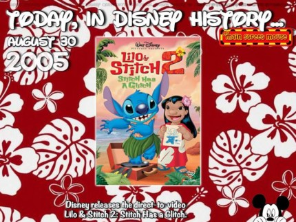 Today In Disney History ~ August 30th 6