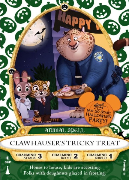 'Clawhauser' Sorcerers of the Magic Kingdom Card Is Coming To This Year's MNSSHP! 4