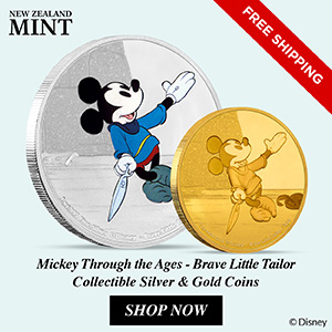 New Zealand Mint Releases Mickey Through the Ages -  Brave Little Tailor 5