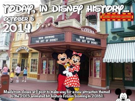 Today In Disney History ~ October 5th 4