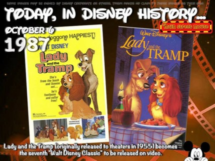 Today In Disney History ~ October 6th 3