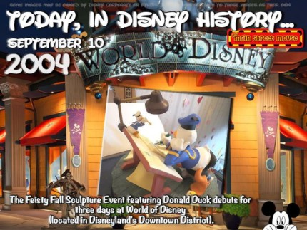 Today In Disney History ~ September 10th 15