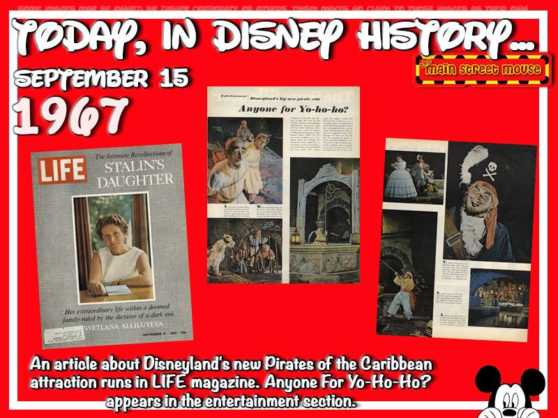 Today In Disney History ~ September 15th 3
