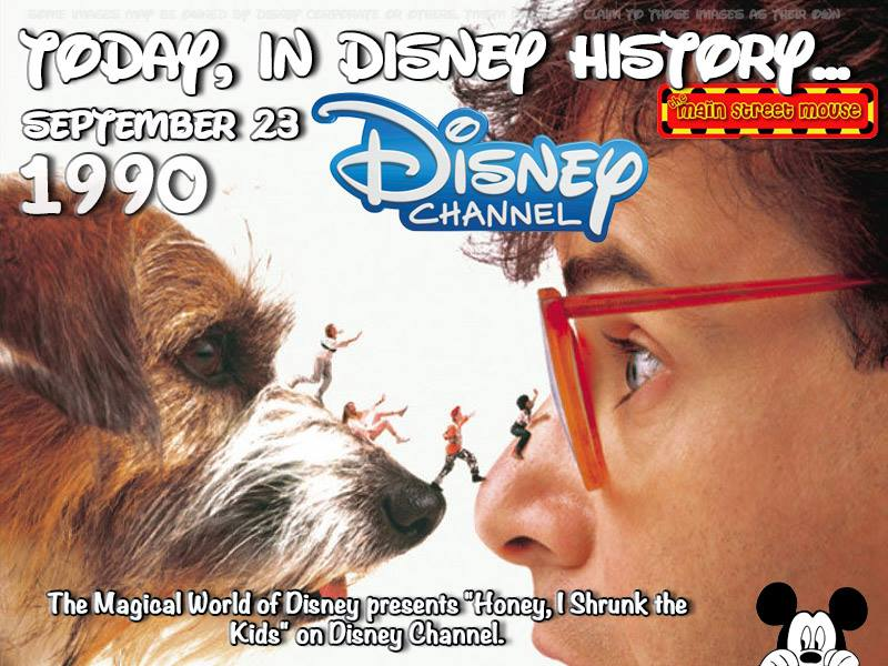 Today In Disney History ~ September 23rd 2