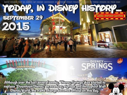 Today In Disney History ~ September 29th 5