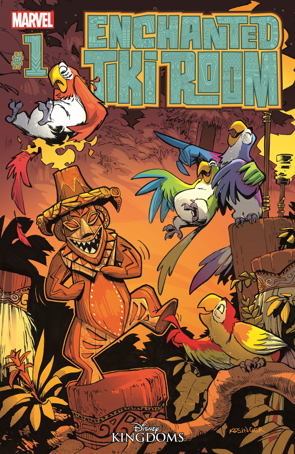 Enchanted Tiki Room #1 Debuts 8