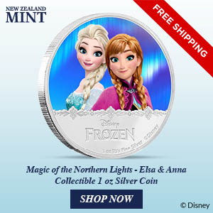 Final Coin For Disney Frozen – Magic of the Northern Lights 16