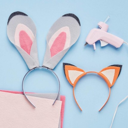 Nick Wilde and Judy Hopps Headbands! Make Your Own! 10