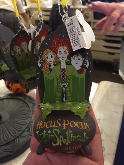Halloween Ornaments from Mickey's Not So Scary Halloween Party 14