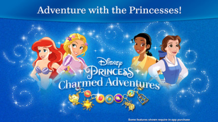 Disney Princess; Charmed Adventures ~ Launching today for mobile devices! 2