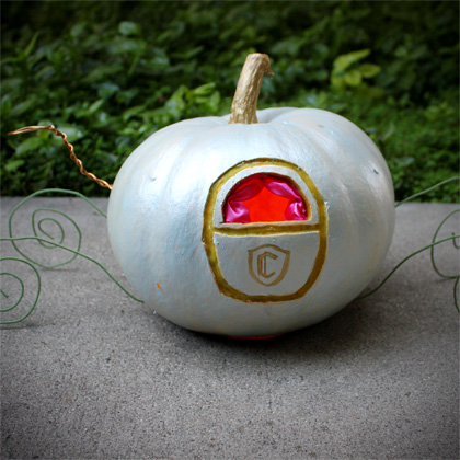Cinderella's Pumpkin Coach ~ Make Your Own! 8