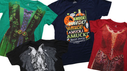 'Hocus Pocus' Apparel Returns to Disney Parks Online Store from September 5-11, 2016 5