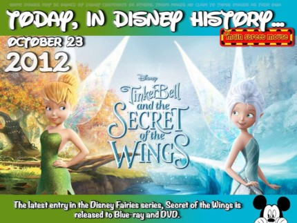 Today In Disney History ~ October 23rd 4
