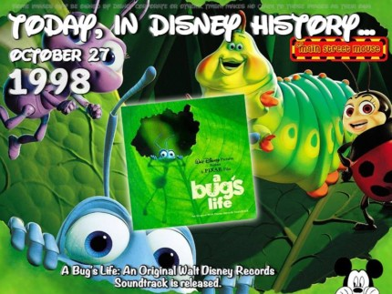 Today In Disney History ~ October 27th 1