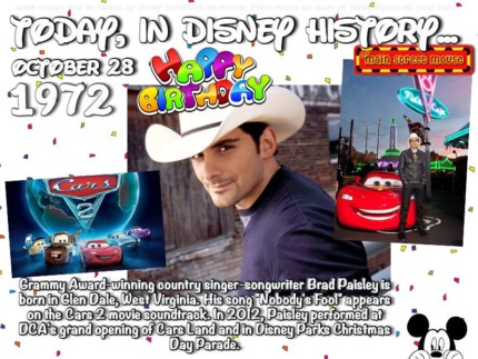 Today In Disney History ~ October 28th 6