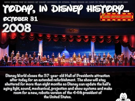 Today In Disney History ~ October 31st 5