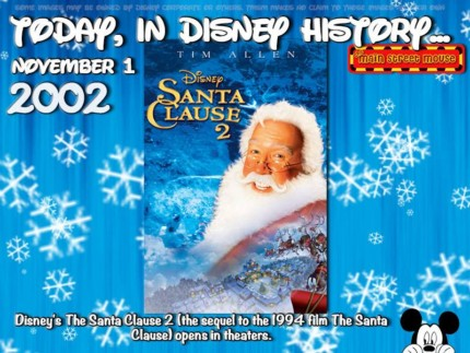Today In Disney History ~ November 1st 5
