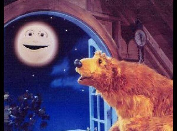 Flashback Friday ~ Bear in the Big Blue House, What those memories mean... 2