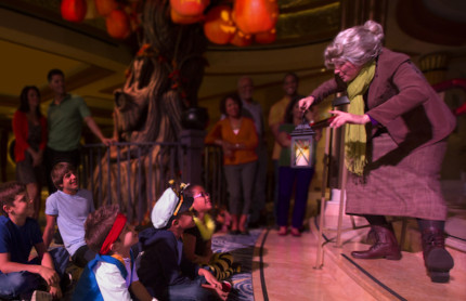 The Legend of the Pumpkin Trees Aboard Disney Cruise Line 10