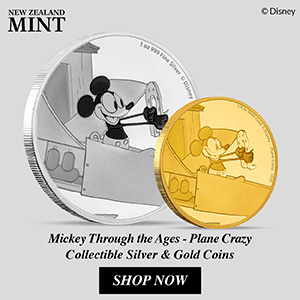 Mickey Through the Ages – Plane Crazy From The New Zealand Mint 3