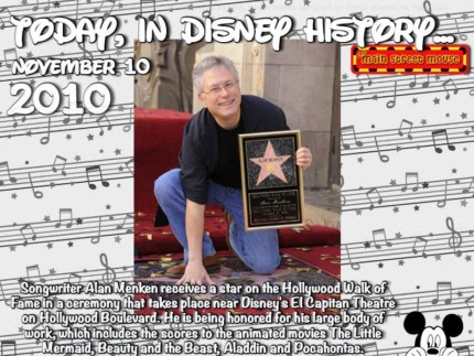 Today In Disney History ~ November 10th 23