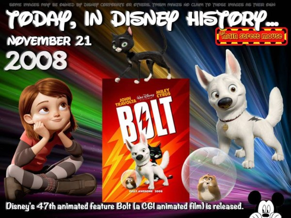 Today In Disney History ~ November 21st 2