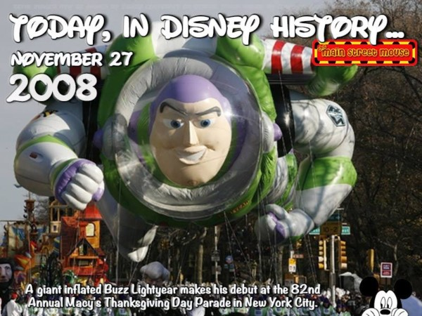 Today In Disney History ~ November 27th 1