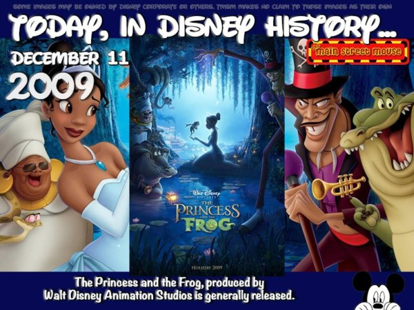 Today In Disney History December 11th