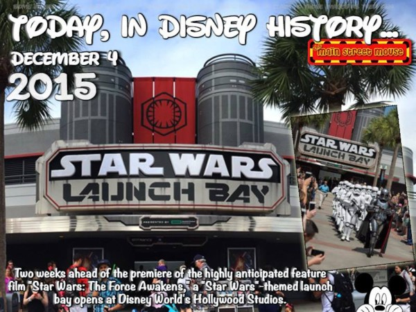 Today In Disney History ~ December 4th 2