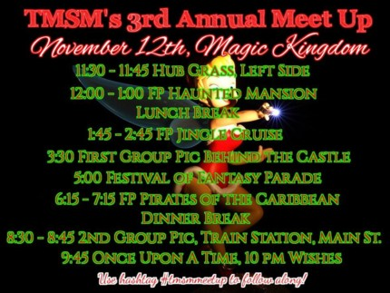 Our Annual TMSM Meet Up is Tomorrow at Magic Kingdom Park! #tmsmmeetup 24