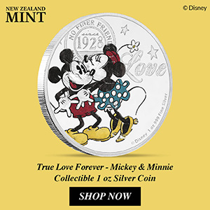 New Zealand Mint Presents The 2017 Disney Love Coin 9