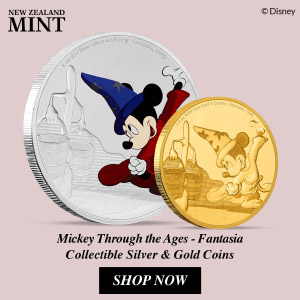 New Zealand Mint Presents: Mickey Through The Ages - Fantasia 29