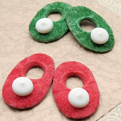 Tink's Christmas Slipper Cookies 1