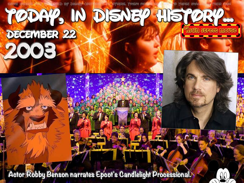 Today In Disney History ~ December 22nd 1