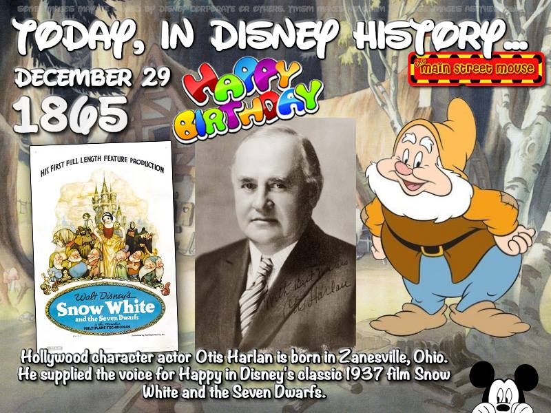 Today In Disney History ~ December 29th 3