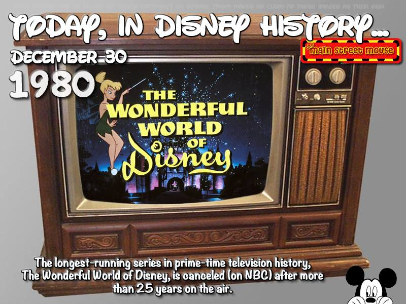 Today In Disney History ~ December 30th 3