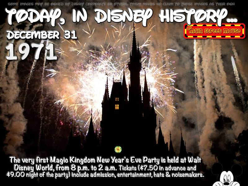 Today In Disney History ~ December 31st 4