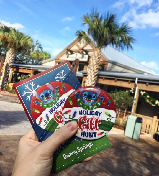 """You Can Take Part in """"Stitch's Holiday Gift Hunt"""" At Disney Springs! 1"""