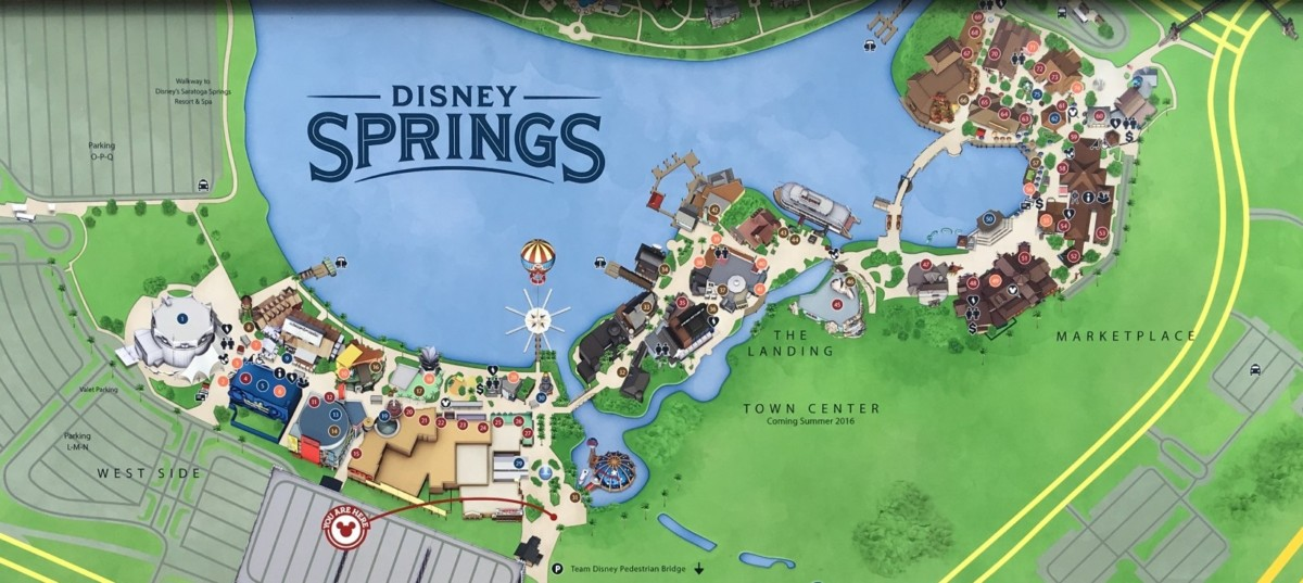 disney springs map image collections