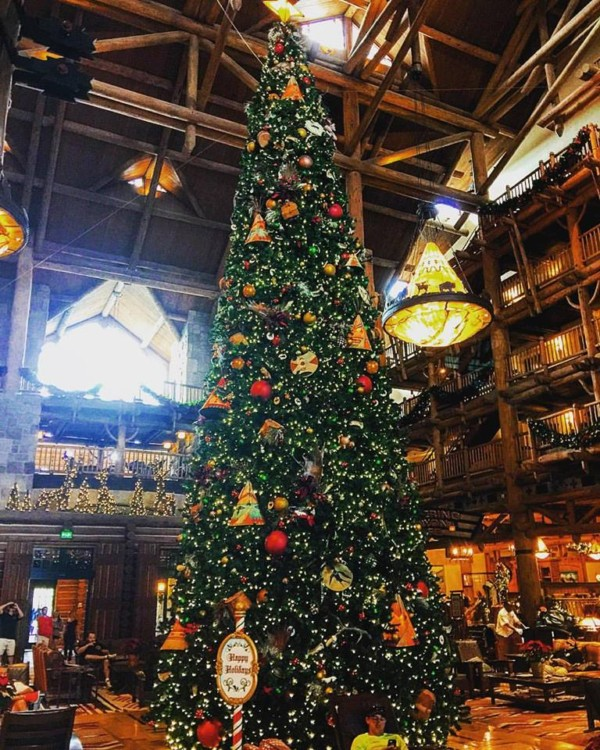 the christmas tree trail at disney springs has multiple disney character and movie themed trees new for 2016 - Disney Christmas Trees