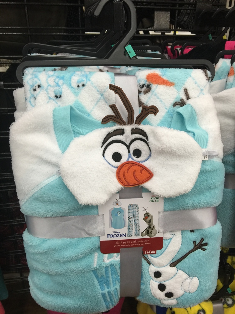Disney Jammies at Walmart ~ Great for Christmas! 9