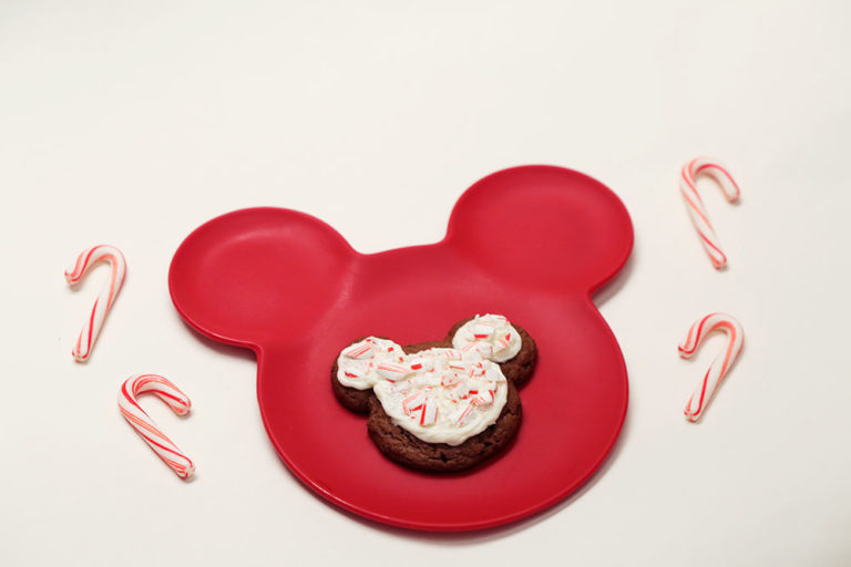 Mickey Mouse Peppermint Cookies ~ Recipe 2