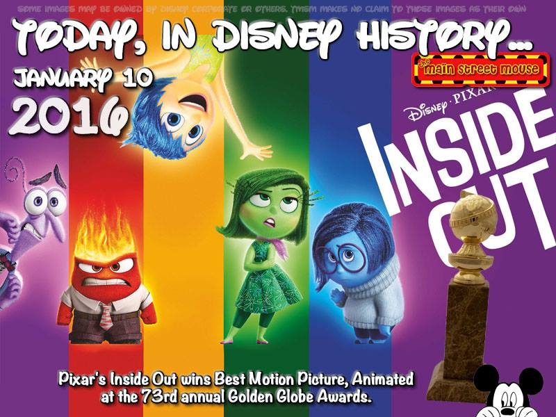 Today In Disney History ~ January 10th 5