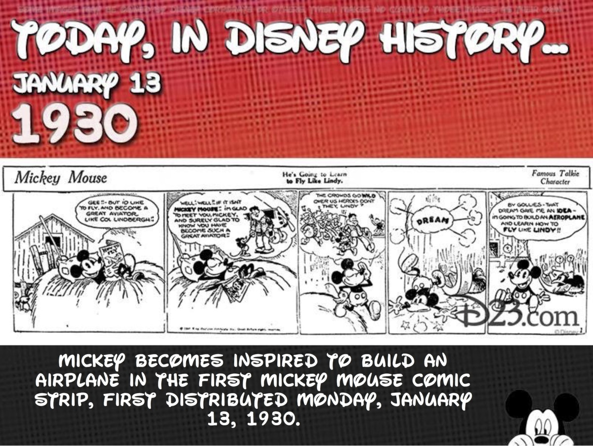 Today In Disney History ~ January 13th 1
