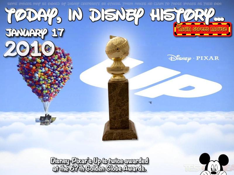 Today In Disney History ~ January 17th 2