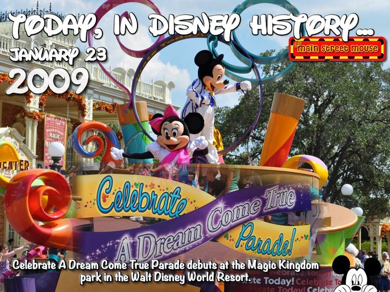 Today In Disney History ~ January 23rd 5