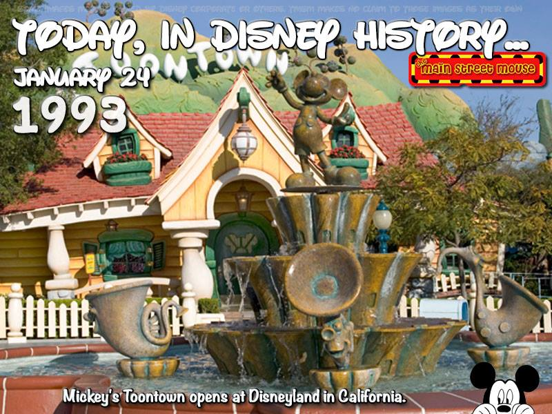 Today In Disney History ~ January 24th 5