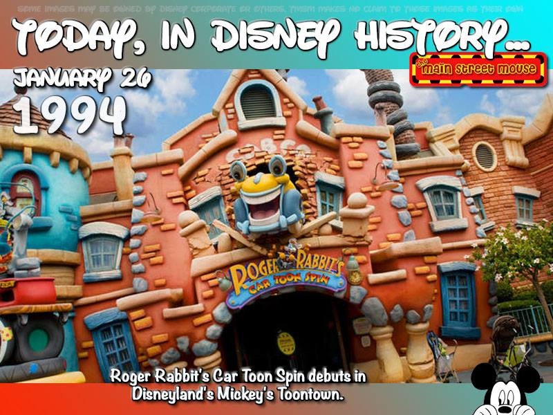 Today In Disney History ~ January 26th 6